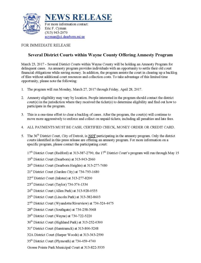Michigan wayne county harper woods - Featured Upcoming Events