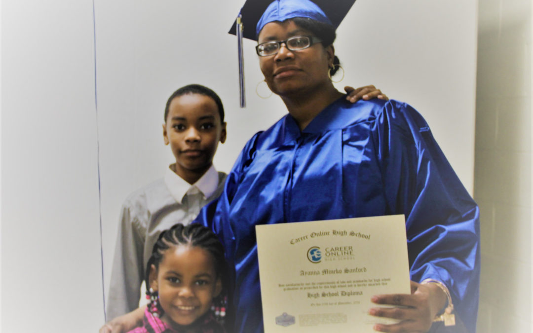 Mother Inspired By Son to Get Her High School Diploma
