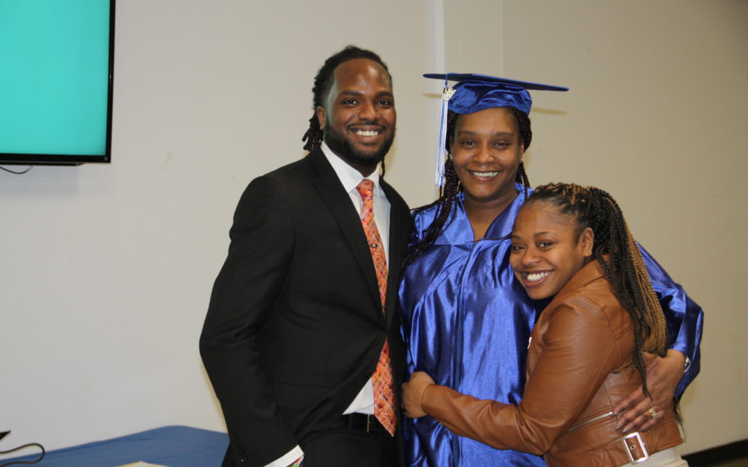 Mother of Three Achieves Her High School Diploma