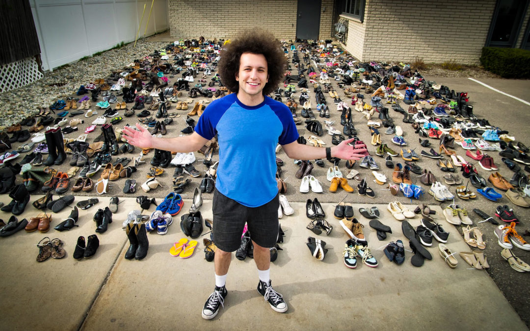 Walk Together Detroit Donates 900+ Pairs of Shoes to Those in Need!