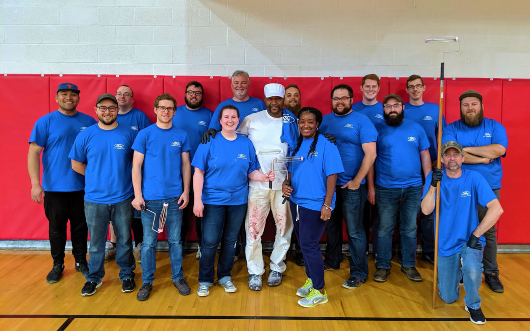 Matrix Receives a Week of Volunteer Assistance