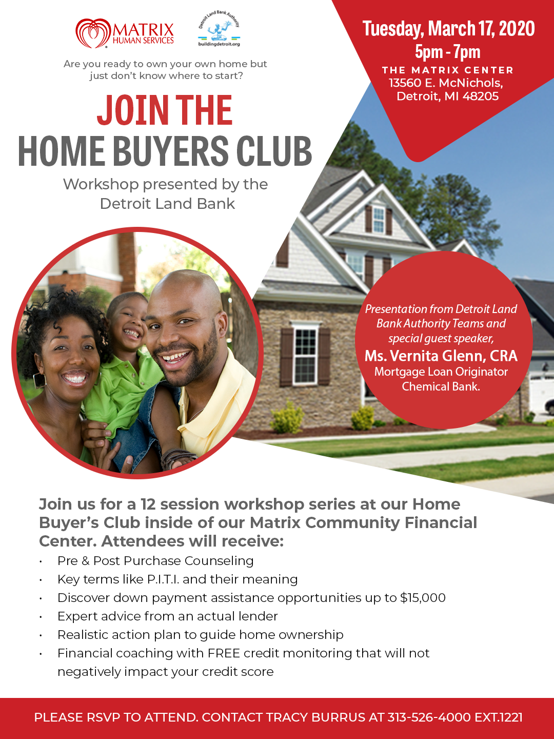 Home Buyer Club flyer