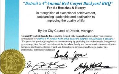 Spirit of Detroit Award 2015
