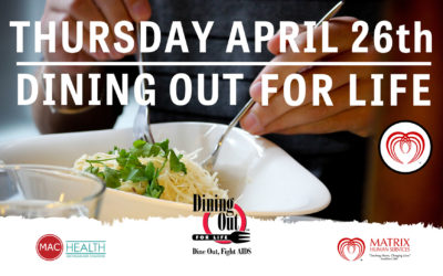 IMPACT THE COMMUNITY BY SUPPORTING – Dining out for Life!