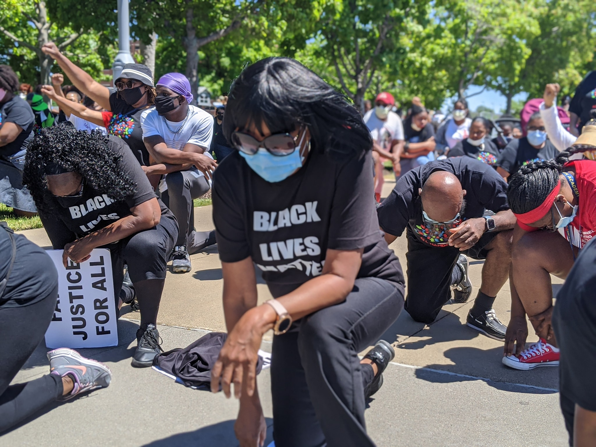 Matrix Staff Marches for Racial Justice and Equality