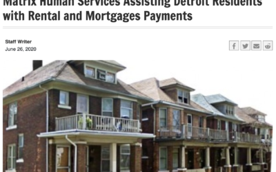 Matrix Launches New Program to Assist Detroit Residents with Rent and Mortgage Payments