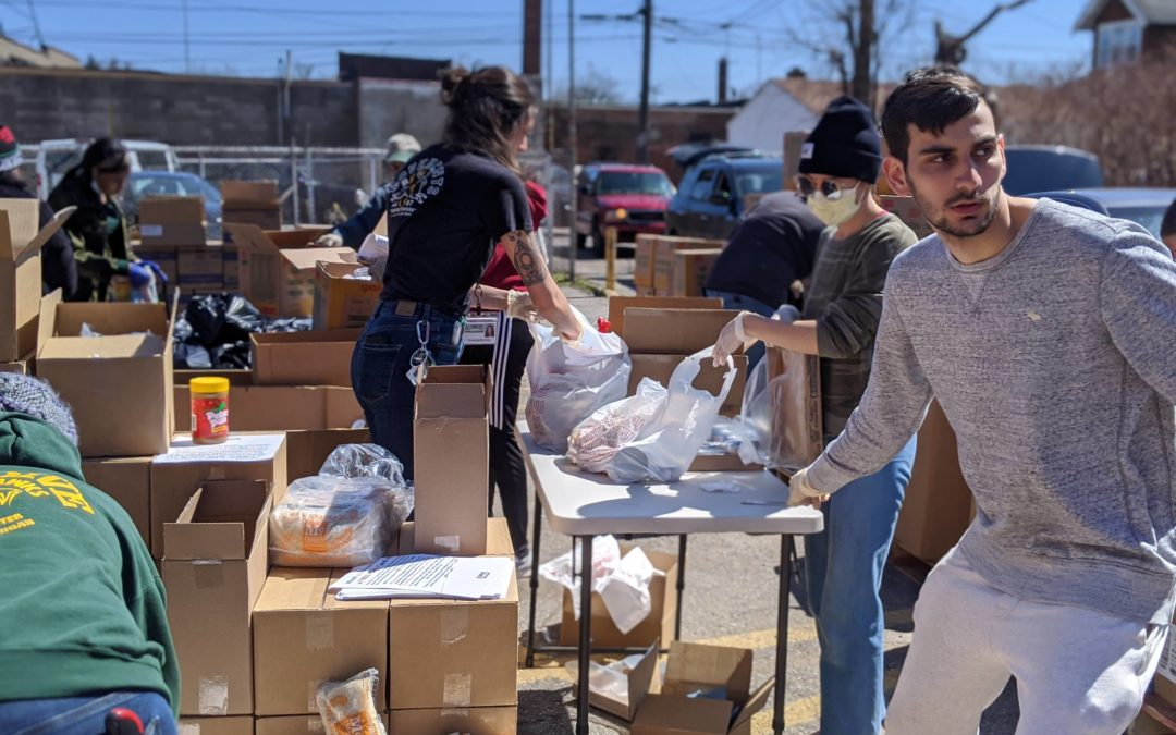 Matrix Finishes Emergency Food Distribution with Gleaners