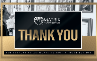 Matrix Human Services Raises $60,000 With A Virtual Art Auction for Annual Artworks Detroit Fundraiser