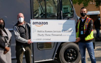 Amazon Gives $33,000 to Matrix Human Services For Community Coronavirus Support