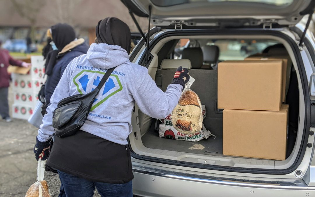 Matrix Human Services Distributes Thanksgiving Meals Before The Holiday
