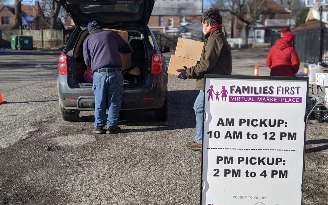 Matrix Provides Extra Food Distributions to Head Start Families During Pandemic