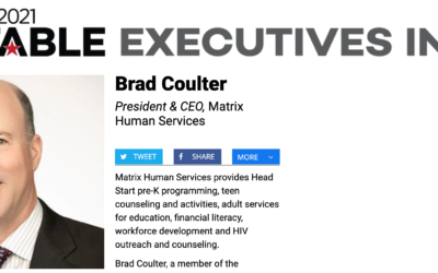 Crain's Recognizes President & CEO Brad Coulter as 2021 Notable Executive in Diversity, Equity, and Inclusion